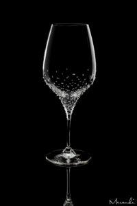 Weissweinglas von Riedel® mit 226 Swarovski® Kristallen veredelt, Elon