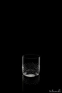 Wasserglas, Whisky Tubler von Riedel® mit 133 Swarovski® Kristallen veredelt, Arela