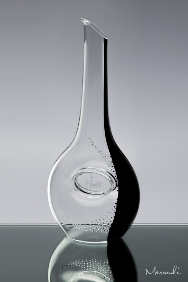 Dekanter, handgefertigt von Riedel® mit 187 Swarovski® Kristallen veredelt, Taliteo
