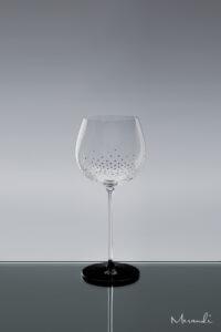 Weissweinglas, handgefertigt von Riedel® mit 241 Swarovski® Kristallen veredelt, Yala