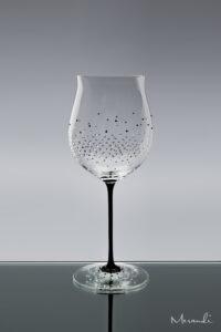 Rotwein, handgefertigt von Riedel® mit 352 Swarovski® Kristallen veredelt, Shira