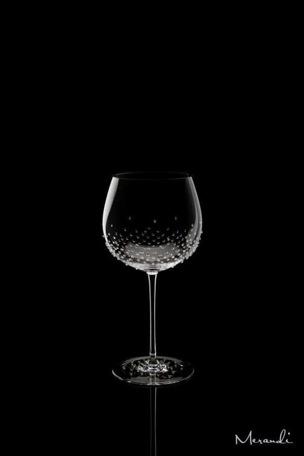 Weissweinglas, handgefertigt von Riedel® mit 214 Swarovski® Kristallen veredelt, Simia