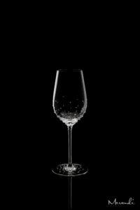 Weissweinglas, handgefertigt von Riedel® mit 154 Swarovski® Kristallen veredelt, Maya