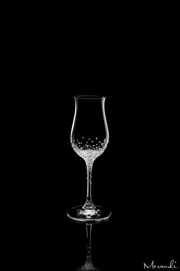 Digestifglas von Riedel® mit 280 Swarovski® Kristallen veredelt, Cian