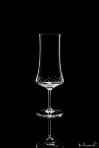 Beer glass by Spiegelau® enhanced with 70 Swarovski® crystals, Tulpa