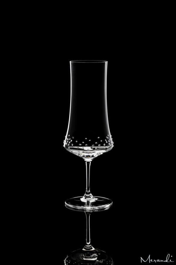 Bierglas von Spiegelau® mit 70 Swarovski® Kristallen veredelt, Tulpa