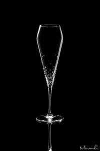 Champagnerglas von Spiegelau® mit 116 Swarovski Kristallen veredelt, Verus