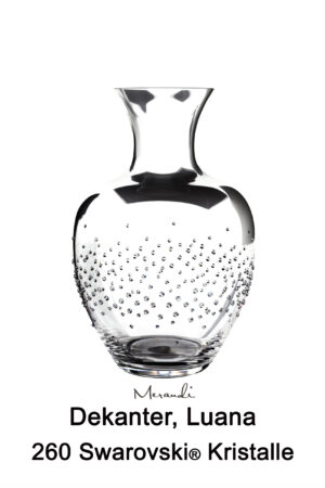 Decanter by Riedel® enhanced with 260 Swarovski® crystals, Luana