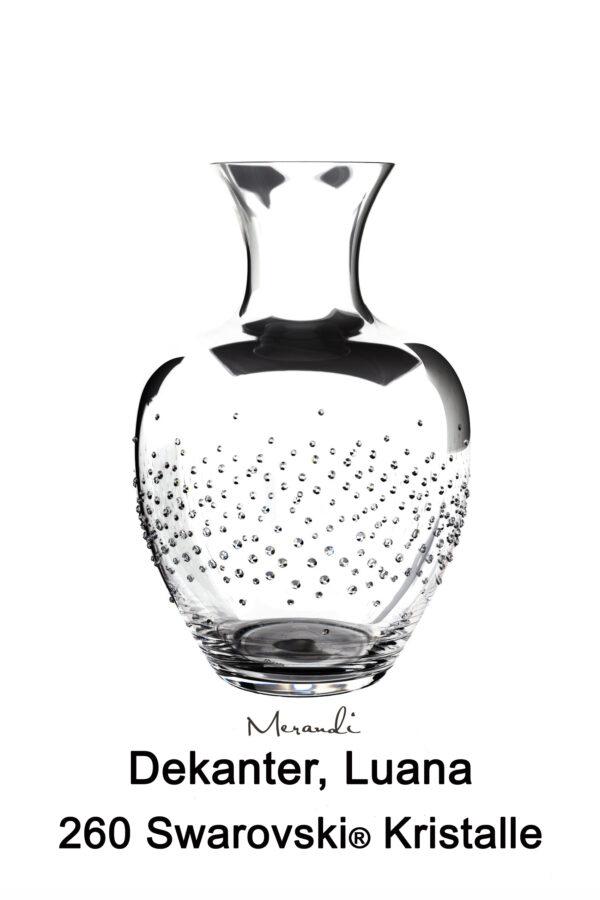 Dekanter von Riedel® mit 260 Swarovski® Kristallen veredelt, Luana