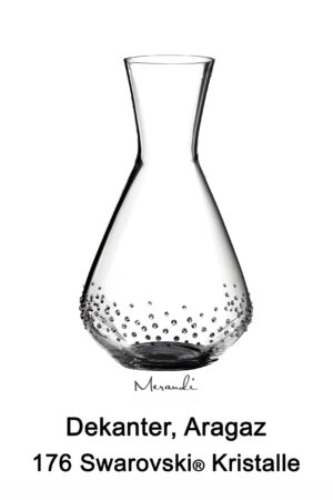 Decanter by Spiegelau® enhanced with 176 Swarovski® crystals, Aragaz