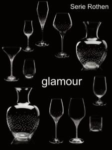 Riedel® Gläser, von uns exklusiv mit Swarovski® Kristallen glamourös veredelt.