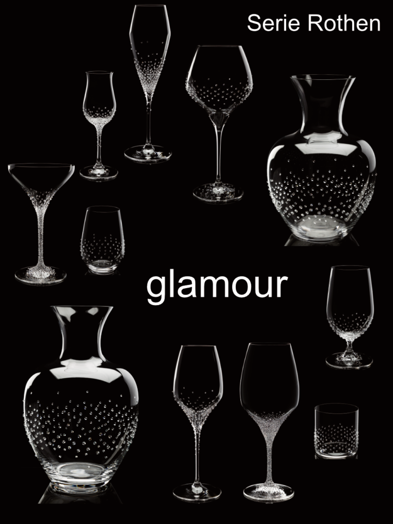 Rothen, elegant Riedel® glasses from us glamorously refined with Swarovski® crystals.