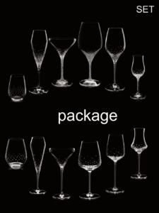 Gläser von Riedel® und Spiegelau® für einfaches Bestellen von Serien zusammengefasst.