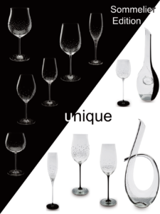 Riedel® Sommelier glasses exclusive unique pieces handmade and mouth blown.
