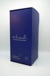 Champagner- Weinglas Riedel®, Swarovski® Kristalle, Merandi Schweiz, Verpackung