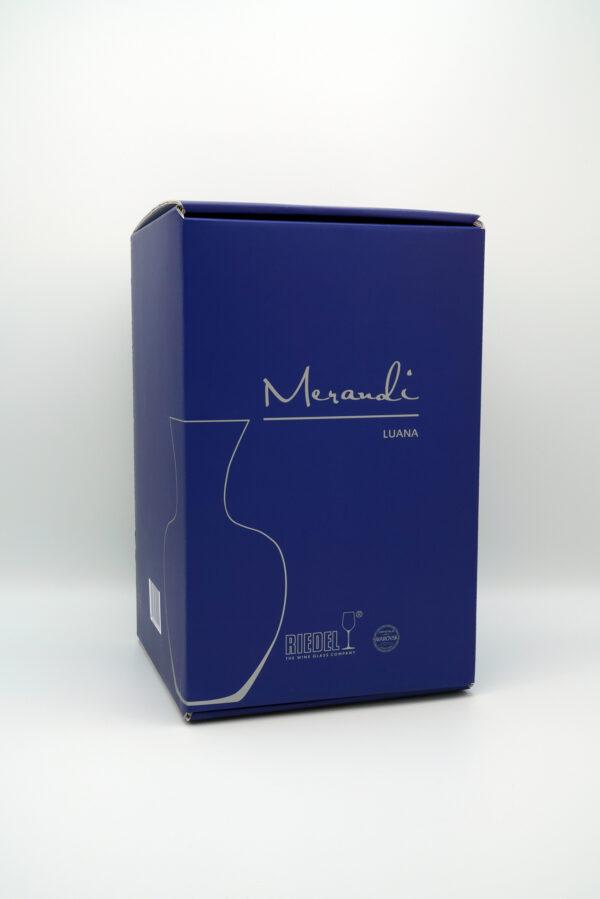 Dekanter Riedel®, Swarovski® Kristalle, Merandi Schweiz Luana, Verpackung