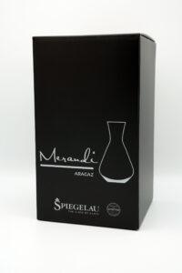 Dekanter Spiegelau® Swarovski® Kristalle, Aragaz Merandi Schweiz, Verpackung