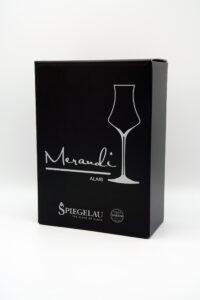 Digestif Glas Spiegelau® Swarovski® Kristalle, Alari Merandi Schweiz, Verpackung