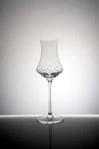 Brandy Digestifglas Alari, Merandi Schweiz, Spiegelau, Swarovski Kristalle, kontrastreich beleuchtet