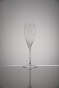 Champagnerglas Arion, Merandi Schweiz, Riedel, Swarovski Kristalle