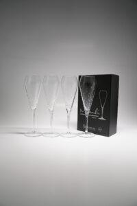 Champagnerglas Verus, 4er Set, Merandi Schweiz