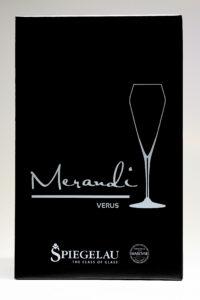Champagnerglas Verus, Merandi Schweiz, Verpackung