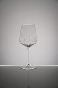 Rotweinglas, Lancer, Merandi Schweiz, Spiegelau, Kristalle Swarovski