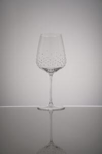 Verre à vin rouge, Lancer, Merandi Suisse, Spiegelau, cristaux Swarovski