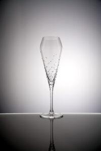 Champagnerglas Verus Merandi Schweiz Spiegelau Swarovski Kristalle