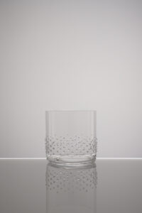 Wasserglas, Tumbler Arela Merandi Schweiz, Riedel, Swarovski Kristalle