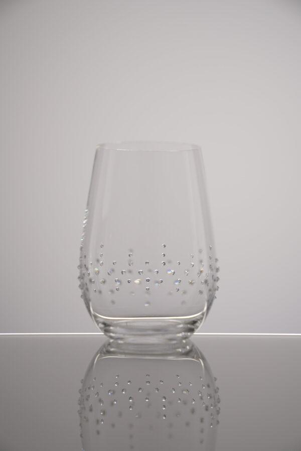 Wasserglas Lorin, Merandi Schweiz, Riedel, Swarovski Kristalle