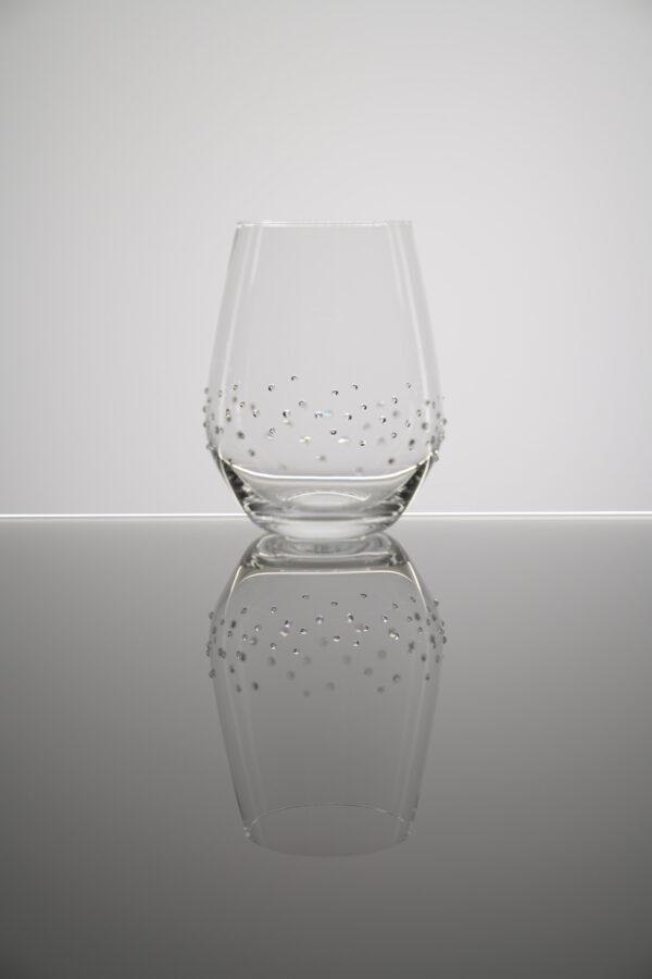 Wasserglas, Quill Merandi Schweiz, Spiegelau, Swarovski Kristalle
