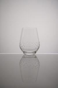 Wasserglas, Quill, Merandi Schweiz, Spiegelau, Swarovski Kristalle