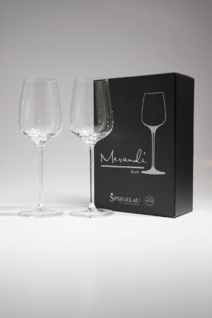 Weissweinglas, Merandi Schweiz Silas, Spiegelau, Swarovski Kristalle