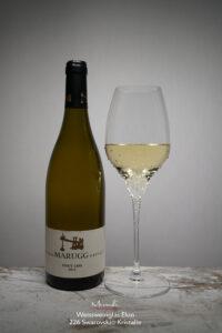 Weissweinglas Elon, Merandi Schweiz, 226 Swarovski® Kristalle, Pinot Gris Marugg
