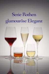 Glasserie Rothen,Merandi Schweiz, Riedel® Gläser mit Swarovski® Kristallen veredelt